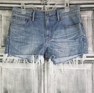 Levi Strauss Daisy duke shorts sz 32/34